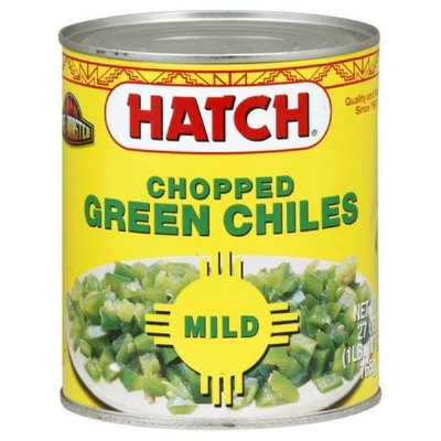Hatch Mild Chopped Green Chili, 27-Ounce (Pack of 3)