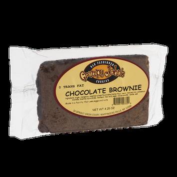 Grumpy John's Chocolate Brownie