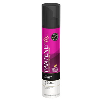 Pantene Pro-V Curly Hair Style Curl Defining Hair Mousse