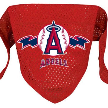 DoggieNation Los Angeles Angels Mesh Dog Bandana - Large