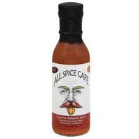 All Spice Cafe Cayenne Habanero Sauce, 12 oz, (Pack of 12)
