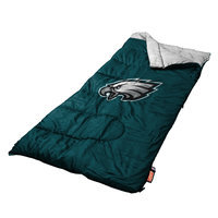 Coleman Philadelphia Eagles Logo Sleeping Bag - Youth