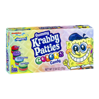 Gummy Krabby Patties Colors Candy Nickelodeon Spongebob Squarepants