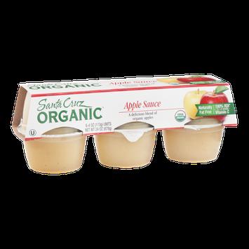 Santa Cruz Organic Apple Sauce - 6 CT