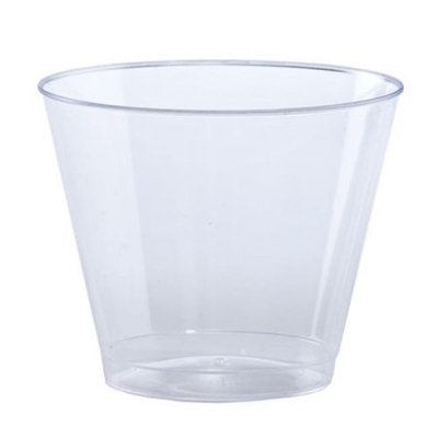 Party Dimensions 12915 9 Oz Old Fashioned Clear Tumbler - 360 Per Case