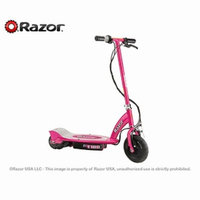 Razor E100 Electric Scooter, Pink Ages 8+, 1 ea