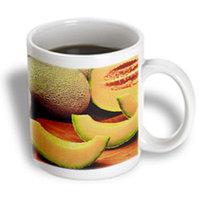 Recaro North 3dRose - Florene Food n Beverage - Ripe Canteloupes - 15 oz mug