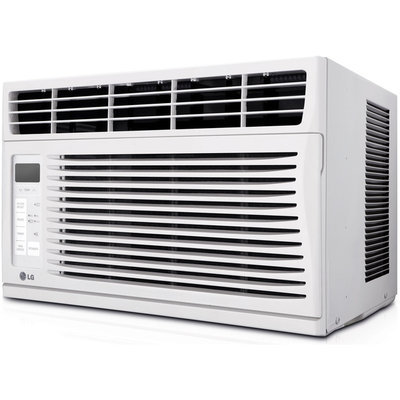 Lg Window Air Conditioners: LG Electronics 6,000 BTU 115 Volt Window Air Conditioner with Remote LW6014ER