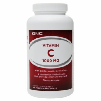 GNC Vitamin C 1000 with Bioflavonoids and Rose Hips, Timed-Release Tablets, 180 ea