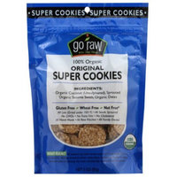Go Raw 100% Organic Original Super Cookies, 3 oz, (Pack of12)