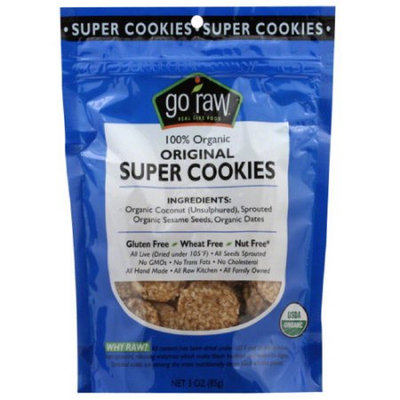 Go Raw Organic Original Super Cookies
