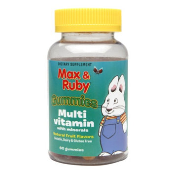 Treehouse Max & Ruby Multivitamin Gummies, 60 ea