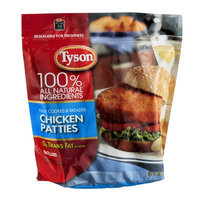 Tyson Chicken Patties Breaded