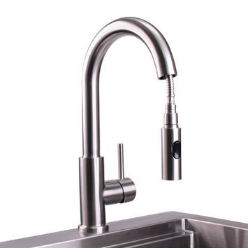 Lynx Professional Ventana Gooseneck Pull Down Faucet