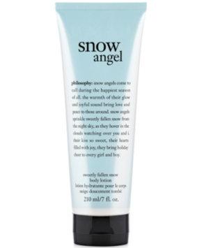 philosophy snow angel body lotion, 7 oz