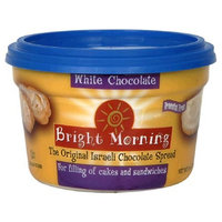Bright Morning White Chocolate Spread, 8-Ounce Tubs (Pack of 12)