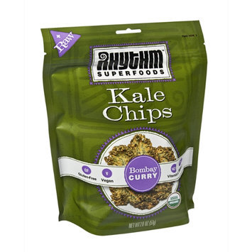 Rhythm Superfoods Bombay Curry Kale Chips