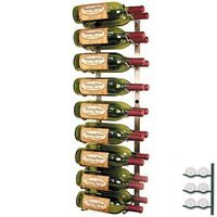 VintageView WS3 Platinum Series 18 Bottle Wall Mounted Wine Rack