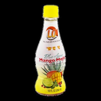 LO Fruit Juice Blend Beverage, Blue Agave Mango Mojito