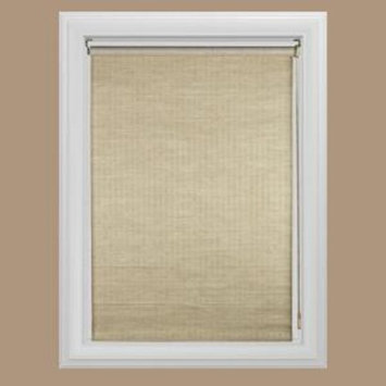 Bali Cut to Size Panama Natural Light Filtering Roller Shade - 45 in. W x 72 in. L [Color/Finish : Panama ; Product Width (in.) : 45 ; Product Length (in.) : 72 ;]