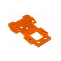 HPI 105892 Bulkhead Lower Plate 2.5mm (Orange)