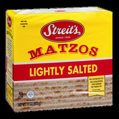 Streit's Matzos Lightly Salted