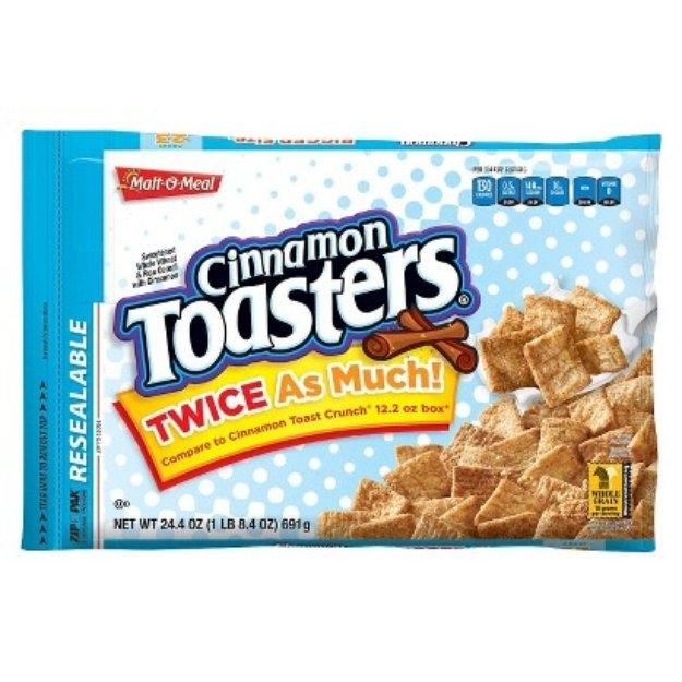 Malt-O-Meal Malt O Meal Cinnamon Toasters Cereal Reviews