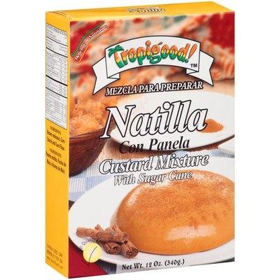 Tropigood! Natilla Custard Mixture with Sugar Cane, 12 oz