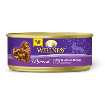 Wellpet Llc Wellness Canned Cuts Minced Turkey & Salmon Entree Canned Cat Food