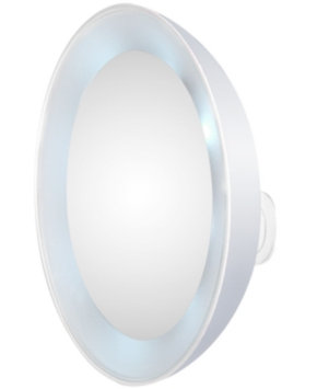 Tweezerman LED Lighted 15x Magnifying Mirror, 1 ea