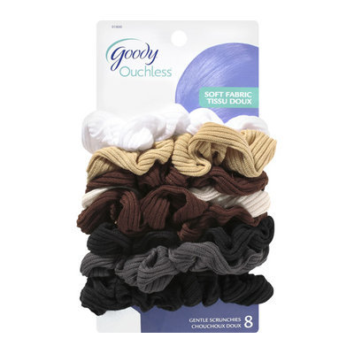 Goody Ouchless Soft Fabric Gentle Scrunchies