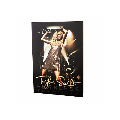Taylor Swift Fearless Tourbook