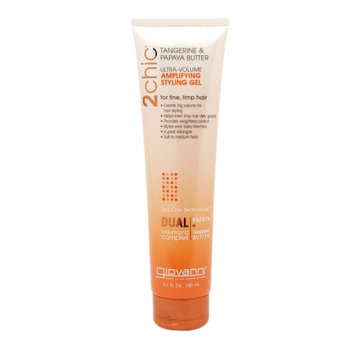 Giovanni 2chic Tangerine & Papaya Butter Ultra-Volume Amplifying Styling Gel