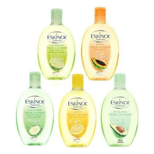 Eskinol Naturals Lemon Facial Cleanser 7.6 Oz - 225 ml Bottle