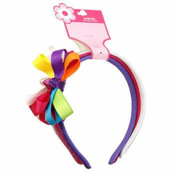 Girls' Bright Ribbon Headbands