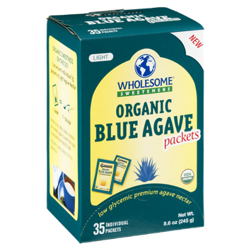 Wholesome Sweeteners Blue Agave Packets Organic Light  - 35 CT