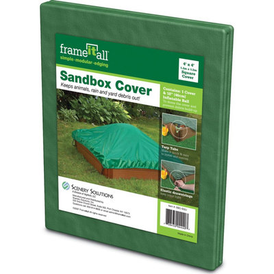 Frame-it-all Frame-It-All Square Sandbox Cover - 4L x 4W ft.