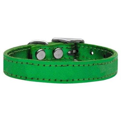 Ahi Plain Metallic Leather Metallic Emerald Green 20