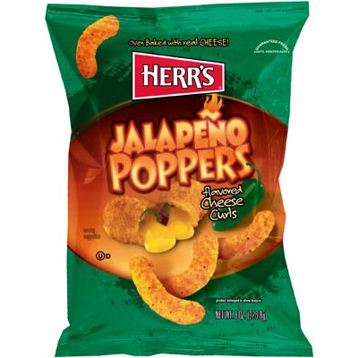 Herr's® Jalapeno Poppers Cheese Curls