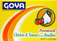 Goya Powdered Chicken and Tomato Bouillon