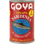 Goya Tinapa Sardines in Hot Tomato Sauce