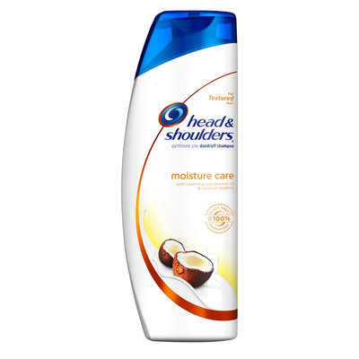 Head & Shoulders Moisture Care with Vitamin E Rich Almond Oil and Coconut Essence