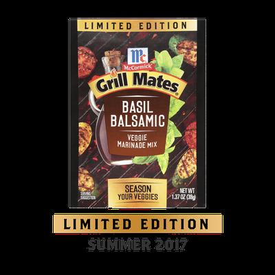 McCormick® Grill Mates® Basil Balsamic Veggie Marinade Mix