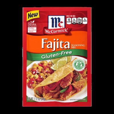 McCormick® Gluten-Free Fajita Seasoning Mix