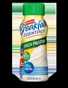 Carnation Breakfast Essentials Classic French Vanilla High Protein