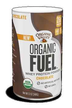 Organic Valley® Chocolate Organic Fuel Protein Powder