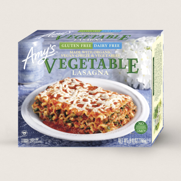Amy's Kitchen Gluten Free, Dairy Free Vegetable Lasagna