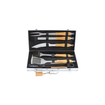 Bnf Chefmaster 7pc Stainless Steel Barbeque Tool Set