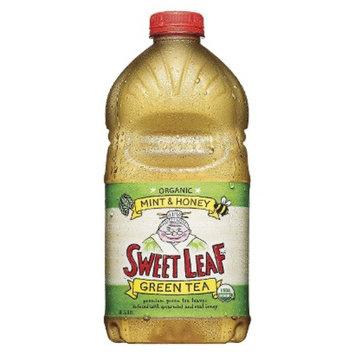 SweetLeaf Sweet Leaf Organic Mint & Honey Green Tea 64 oz