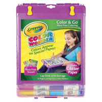 Crayola Color Wonder Glitter Color and Go Desk